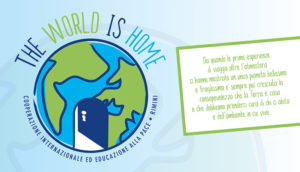 "Continua il progetto ""the world is home"""