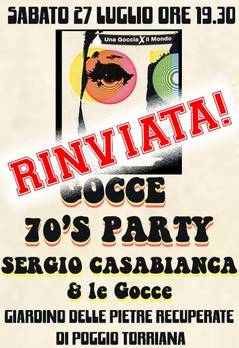 Gocce 70's Party
